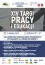 Plakat XIV Targów Pracy i Edukacji