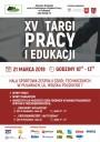 Plakat XV Targi Pracy i Edukacji